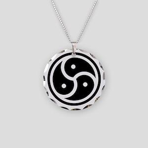 BDSM Necklace Circle Charm