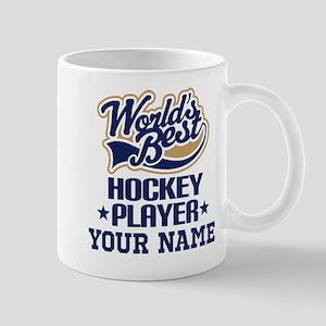Hockey Player Personalized Gift Mugs
