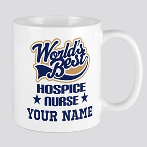 Hospice Nurse Personalized Gift Mugs