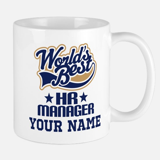 HR Manager Personalized Gift Mugs