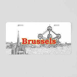 Brussels Aluminum License Plate