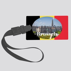 Brussels Large Luggage Tag