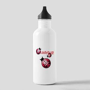 Ladybugs Sports Water Bottle