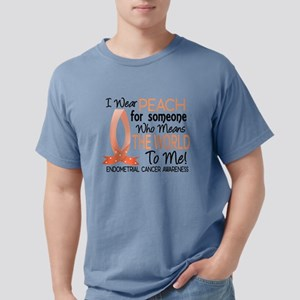 Means World To Me 1 Endometrial Cancer Shirts T-Sh