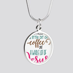 coffee and jesus Necklaces
