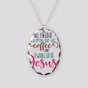 coffee and jesus Necklace