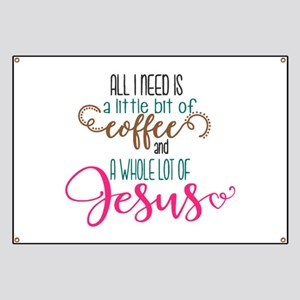 coffee and jesus Banner