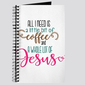 coffee and jesus Journal