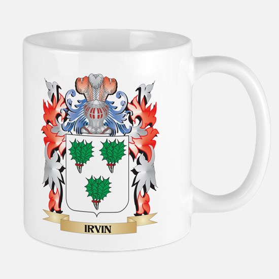 Irvin Coat of Arms - Family Crest Mugs