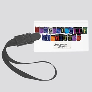 Respectfully Submitted Large Luggage Tag