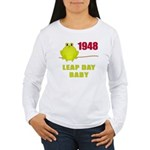 1948 Leap Year Baby Women's Long Sleeve T-Shirt