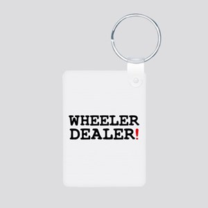 WHEELER DEALER! Keychains