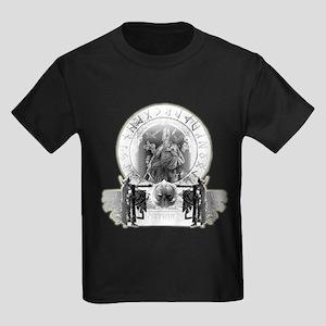 Odin Norse God Kids Dark T-Shirt