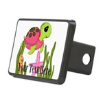Pink Sea Turtle Hitch Cover