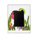 Pink Sea Turtle Picture Frame