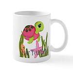 Pink Sea Turtle Mugs