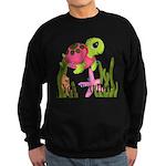 Pink Sea Turtle Sweatshirt