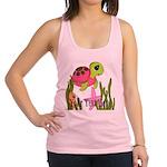 Pink Sea Turtle Racerback Tank Top