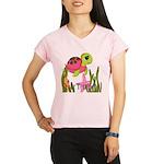 Pink Sea Turtle Performance Dry T-Shirt