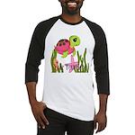 Pink Sea Turtle Baseball Jersey