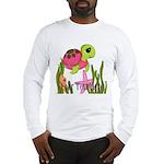 Pink Sea Turtle Long Sleeve T-Shirt