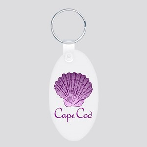 Cape Cod Scallop Shell Keychains