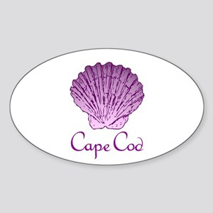 Cape Cod Scallop Shell Sticker