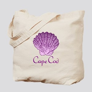 Cape Cod Scallop Shell Tote Bag
