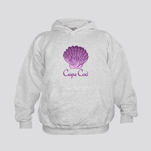 Cape Cod Scallop Shell Hoodie