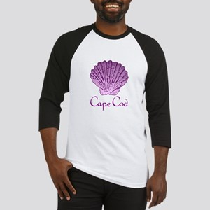 Cape Cod Scallop Shell Baseball Jersey