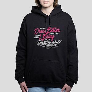 Clueless - Dress Better Women's Hooded Sweatshirt