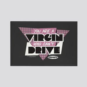 Clueless - Virgin Can't Drive Rectangle Magnet