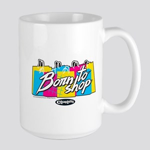 Clueless - Born to Shop Large Mug