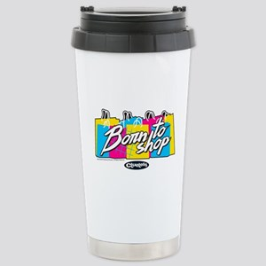 Clueless - Born to Shop Stainless Steel Travel Mug