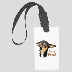 Chihuahua Large Luggage Tag