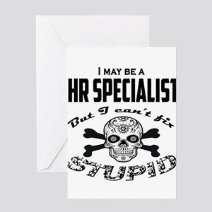 HR specialist Greeting Cards