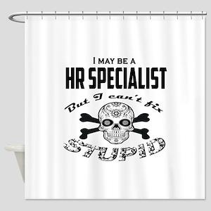 HR specialist Shower Curtain