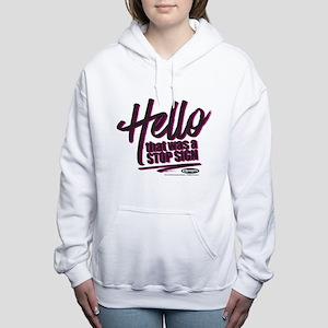 Clueless - Hello Stop Si Women's Hooded Sweatshirt