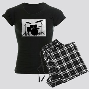 Drum Kit Women's Dark Pajamas