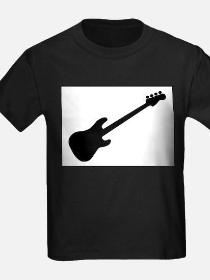 Bass Guitar Silhouette T-Shirt