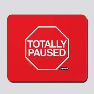 Clueless - Totally Paused Mousepad