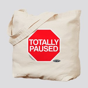 Clueless - Totally Paused Tote Bag