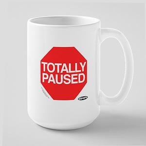 Clueless - Totally Paused Large Mug