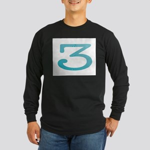 Water Numbers Long Sleeve T-Shirt
