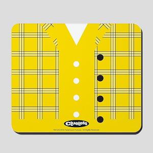 Clueless - Yellow Mousepad