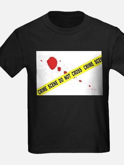 Crime Scene Do Not Cross T-Shirt