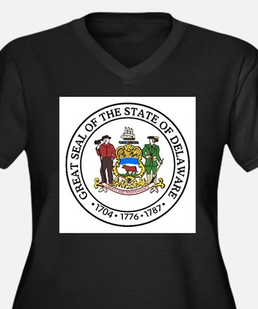 Great Seal of Delaware Plus Size T-Shirt