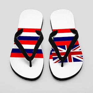 Flag of Hawaii Flip Flops