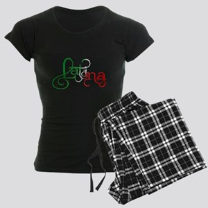 Proud to be a Latina! Women's Dark Pajamas
