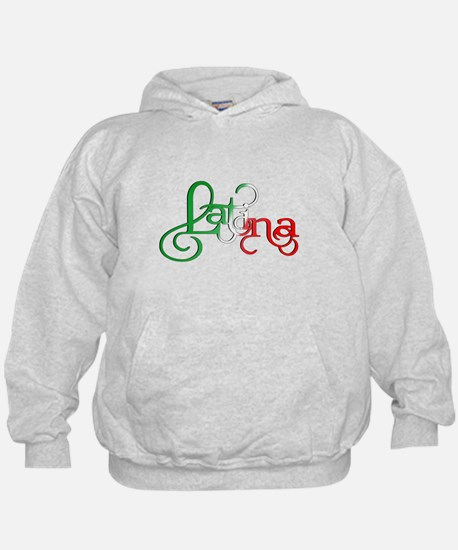 Proud to be a Latina! Hoodie